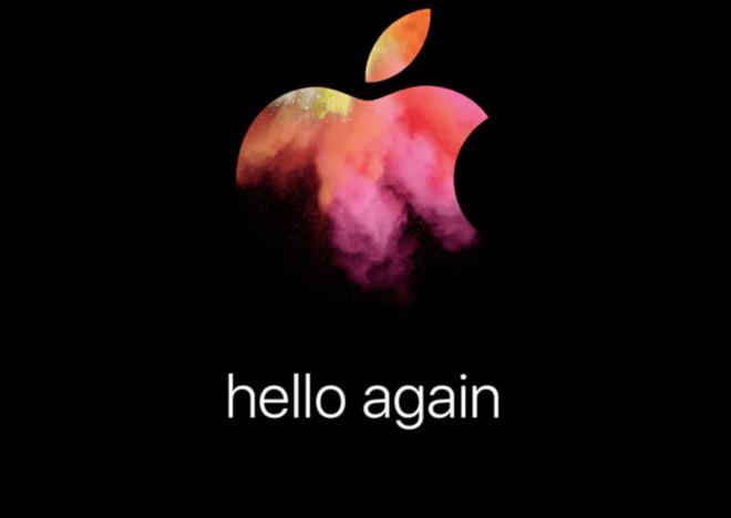 Hello Again 27 octubre Apple