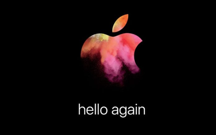Hello Again Apple 2016