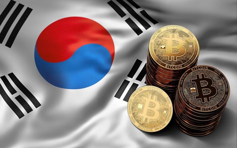 Bancos de Corea del Sur criptomonedas