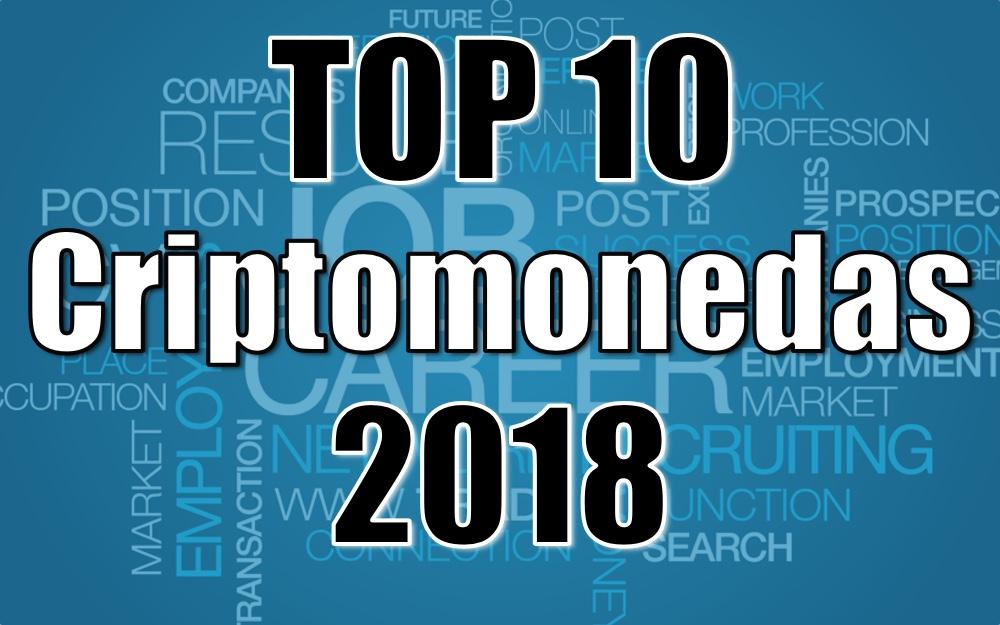 Top 10 criptomonedas 2018