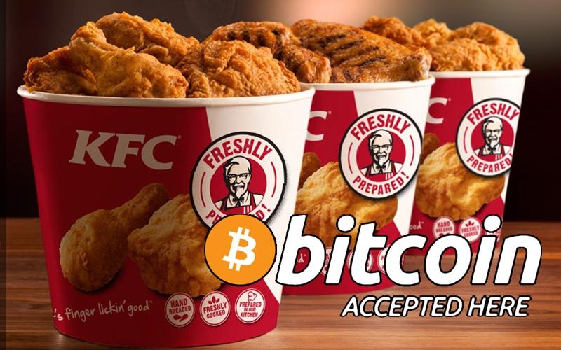 KFC bitcoin cubo