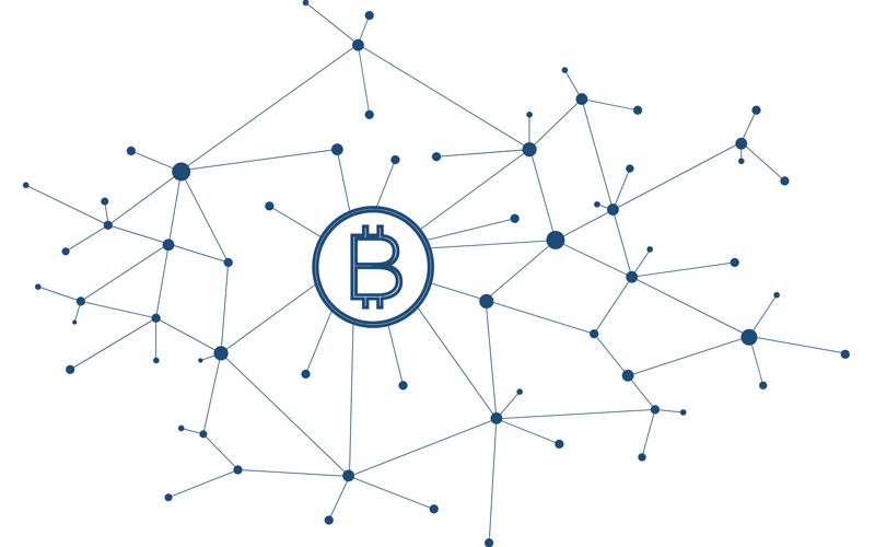 Red lighting bitcoin