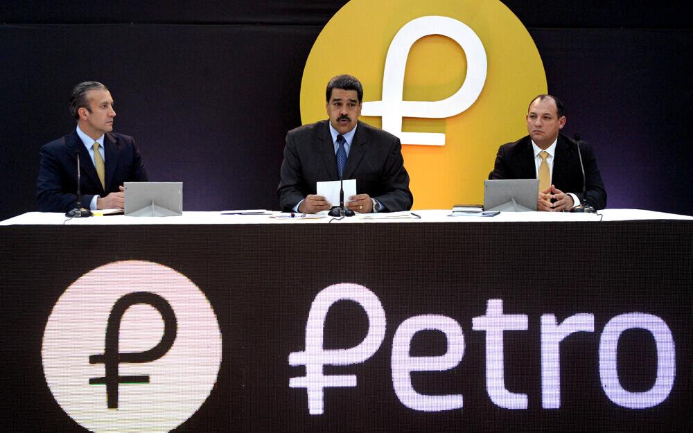 Nicolas Maduro afirma que ha vendido $5 mil millones en petros
