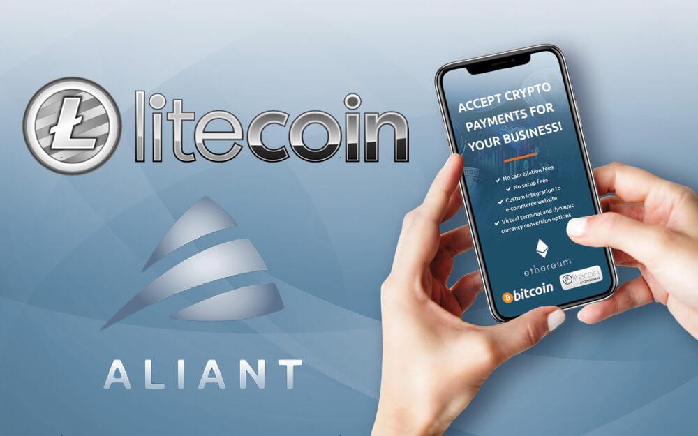 Aliant Pay se asocia con Litecoin