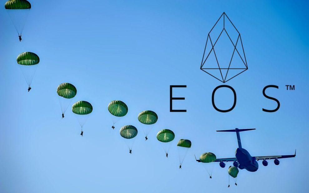 Airdrops de EOS
