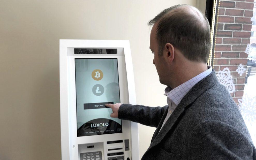 Cajeros automáticos de Bitcoin en aumento