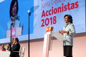 El Santander deja que sus accionistas voten con blockchain