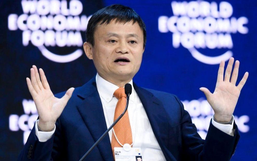 Jack Ma dijo que Bitcoin es la burbuja y blockchain no