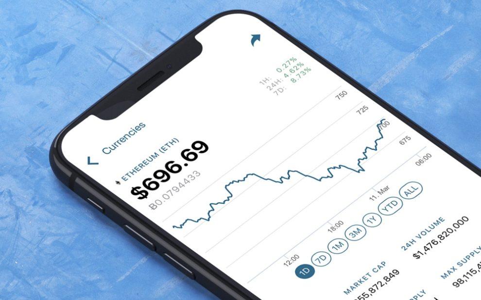 La app de CoinMarketCapp es tendencia en App Store