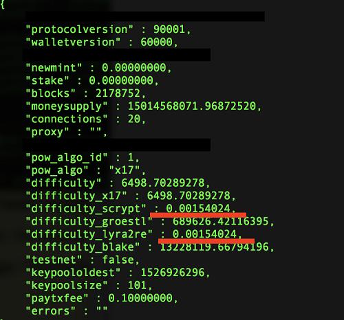 XVG exploit