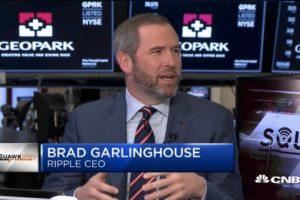 Brad Garlinghouse quiere docenas de bancos que usen XRP en 2019