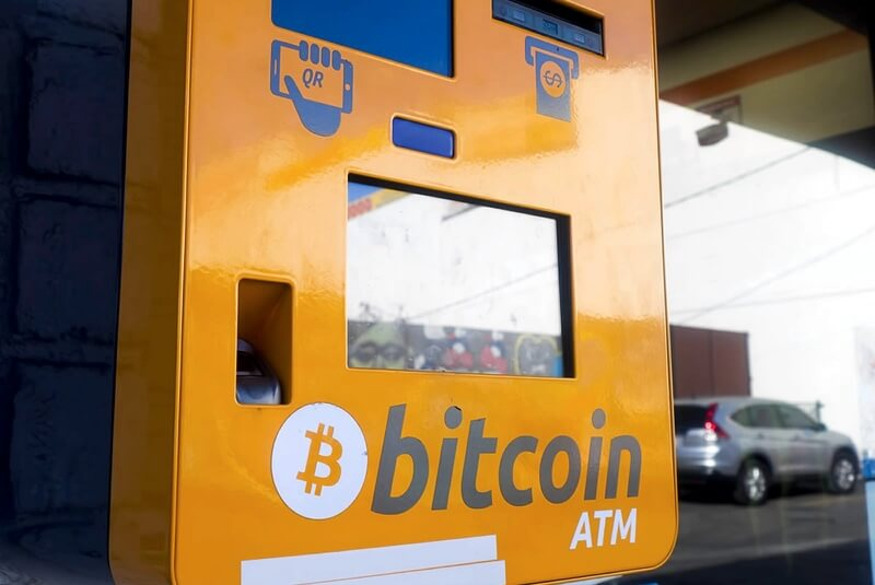 Cajero automático de Bitcoin
