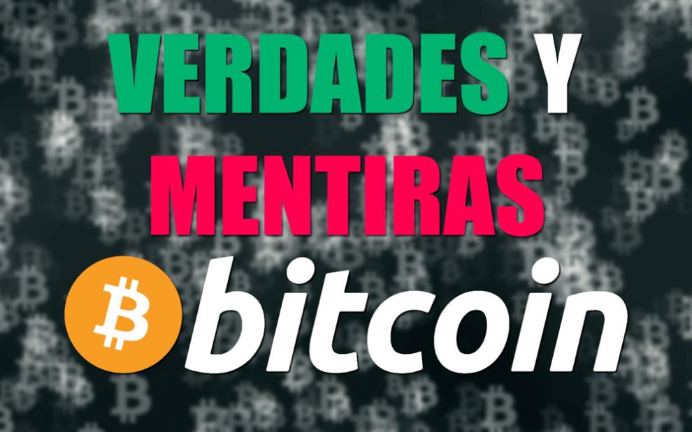Mitos y verdades de Bitcoin