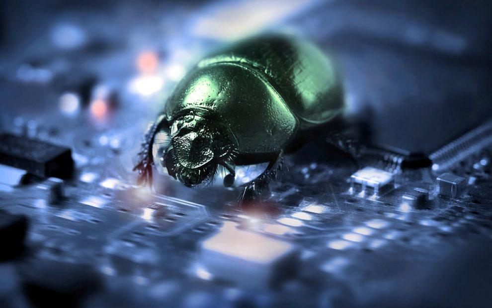 cazador de errores encontró 12 problemas en EOS