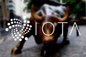 IOTA recupera su nivel por encima de $1