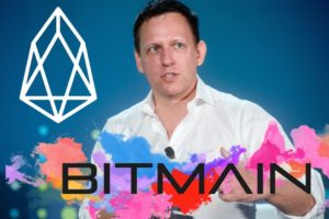 Peter Thiel y Bitmain invierten en EOS