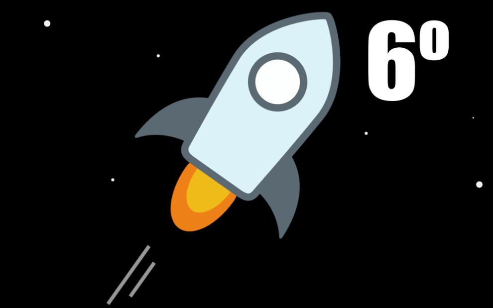 Stellar ocupa ahora el puesto numero 6