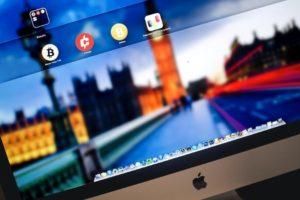 iMac robada con bitcoins dentro