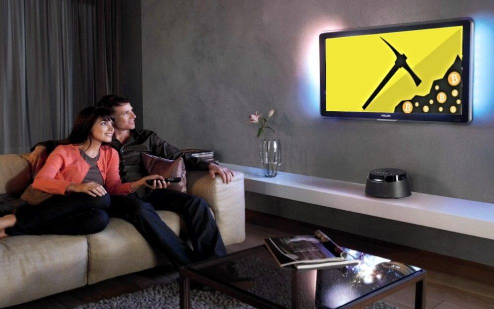 Con Canaan sera posible minar mientras miras television