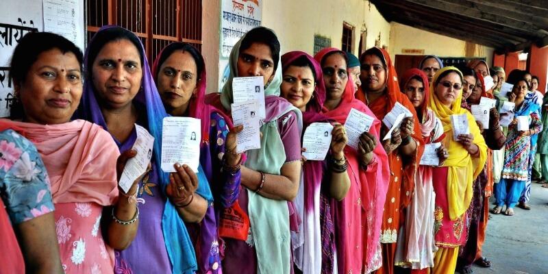 Votación en India