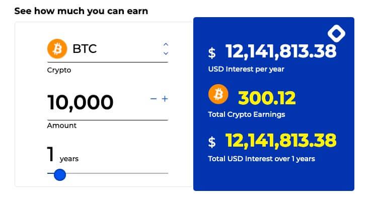 Cuanto podemos ganar con Bitcoin en BlockFi