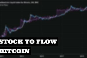 Ratio Stock to Flow de Bitcoin