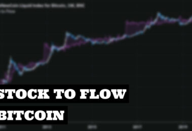 Ratio Stock to Flow de Bitcoin