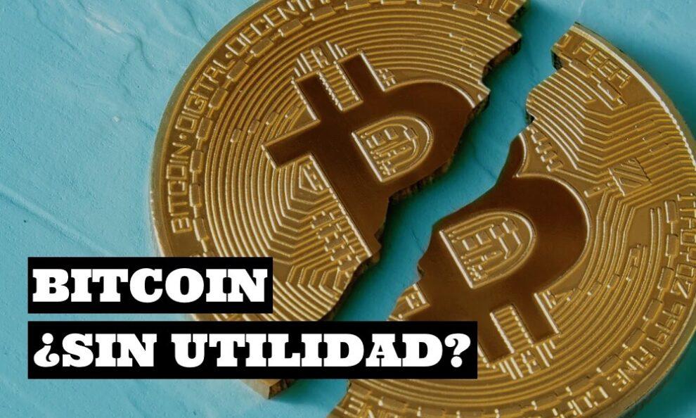Es bitcoin una moneda sin utilidad